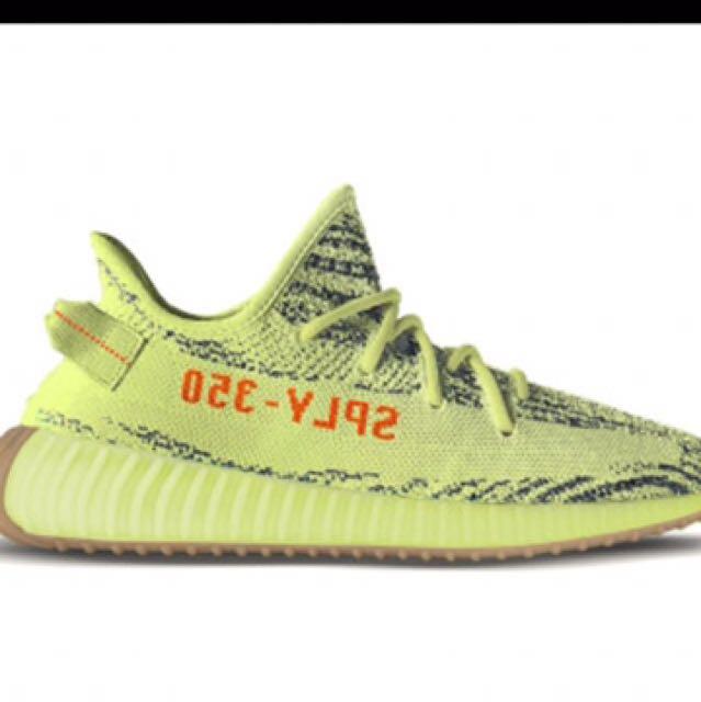 3b701e6e3948b WTS Adidas Yeezy Boost 350 V2 Semi Frozen Yellow