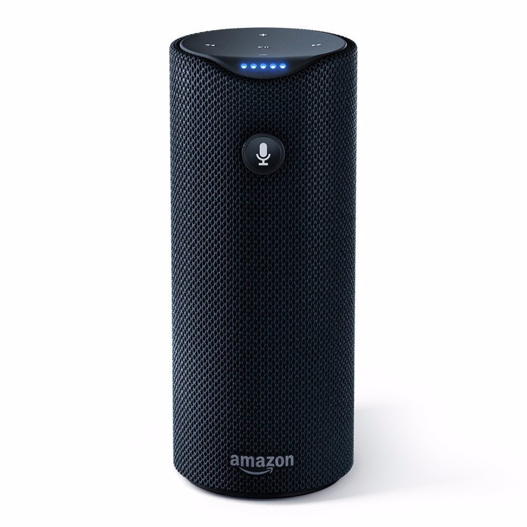 Wts Amazon Tap Alexa Enabled Portable Bluetooth Speaker Still Sealed Refurbished Unit From Amazon Like The Echo But With Battery And Without Drop In Function Electronics Others On Carousell