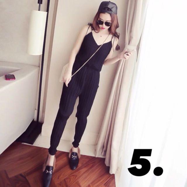 韓版-皺摺縮腰哈倫褲XL號#我的女裝可超取