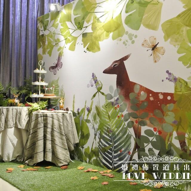 森林小zoo套組~婚禮佈置道具出租