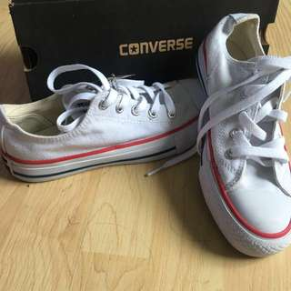 Converse all star white 38 white
