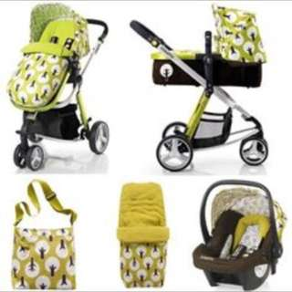 cosatto 3 in 1 travel system (treet)