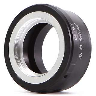 M42 Mount to Sony E Mount Camera Adapter - Black (BRAND NEW)