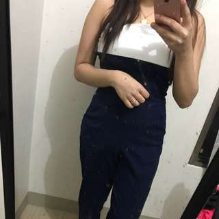 TWO TONED JUMPSUIT