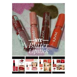 Authentic Nyx Butter Lipstick