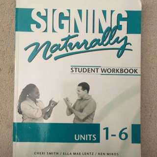 Signing Naturally Units 1-6