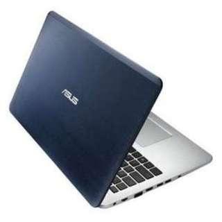 Cicilan Asus A456UR i5 7200 RAM 4GB HDD1TB, Proses 30 Menit!