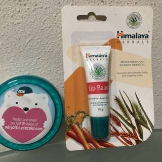 BN Himalya Lip Balm and Nourishing Skin Cream