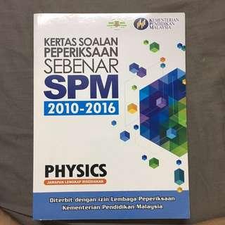 Physics SPM