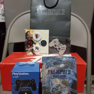 Ps4 Final Fantasy + Controller stand Bundle