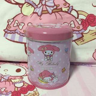Sanrio My Melody Round Tin With Lid