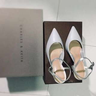 Charles and Keith strap high heels