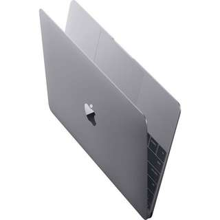 MacBook (Retina, 12-inch, Early 2016) in Space Grey