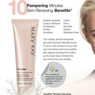Ready stock Mary Kay TimeWise Renewing Gel Mask