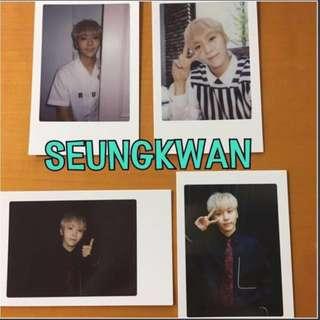 [PRICE REDUCED] Official Seventeen Diamond Edge Seoul Seungkwan Photocard