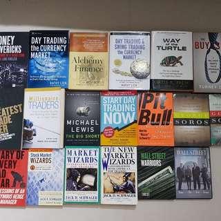 Trading, Trader Books