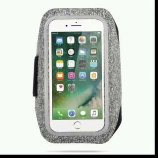 Sports Arm Band (Grey) for iPhone X/8 Plus