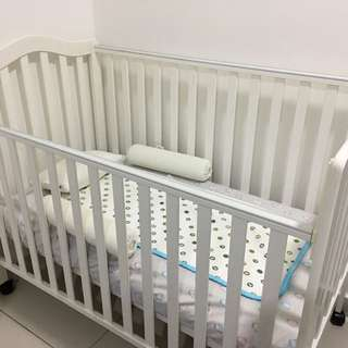 Baby Cot & Matress