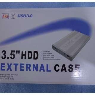 """3.0 HDD hard disk sata usb enclosure case external for desktop 3.5"""" laptop 2.5"""""""
