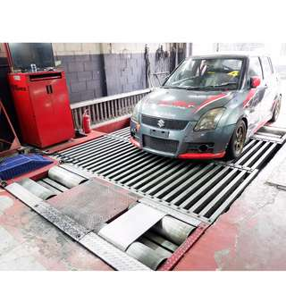 Dyno Dynamics Test Power or ECU Tuning / RENT
