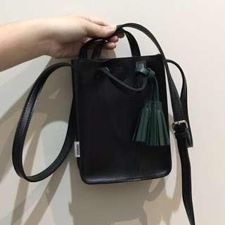 MINISO - Sling Black Bag