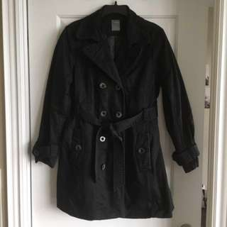 Double Breasted Belted Fall/Winter Jacket