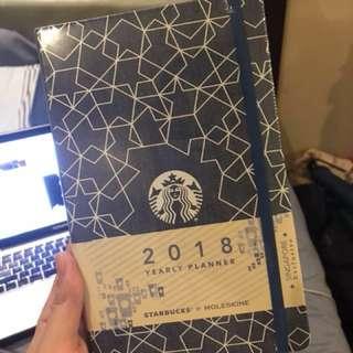 2018 Starbucks Planner (Singapore)