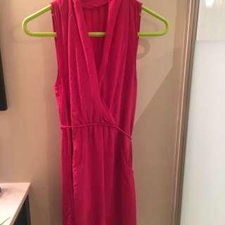 Aritzia pink dress