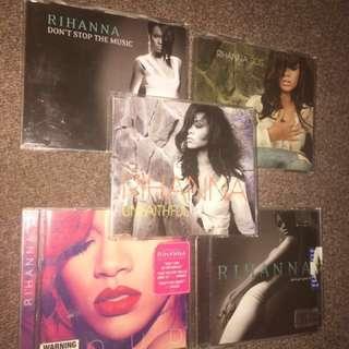 Rihanna Bundle Cd Single + Album