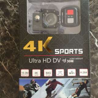 Action camera 4K ultra HD