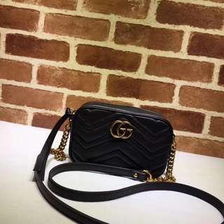 Gucci Mini Marmont - BLACK