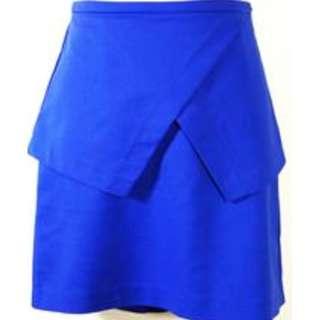 Tokito Royal Blue Skirt SIZE 8