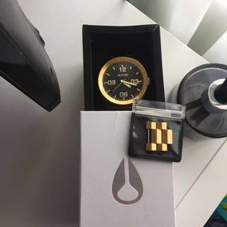 Nixon Gold and Black Watch (Sentry SS)