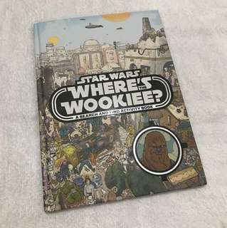 Star Wars Where's the Wookie Activity Book #StarWars