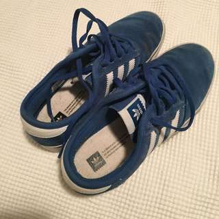 Blue Adidas Shoes!!