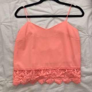 Pink singlet