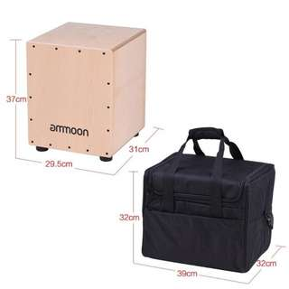 Ammoon Medium Cajon w Carry Bag
