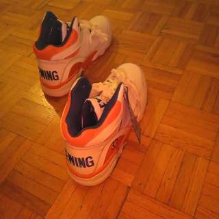 New collectible Patricka Ewing basketball shoes