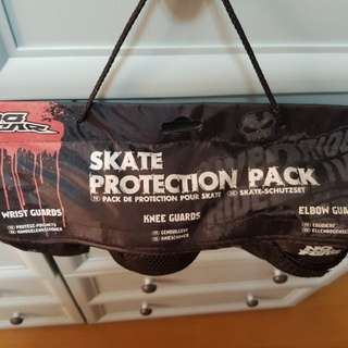 authentic NO FEAR skate protection