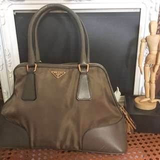 Authentic Prada Mini Bowler Bag