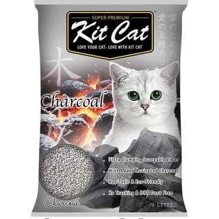 Kit Cat Charcoal Cat litter