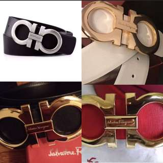 Designer belts 100 each.