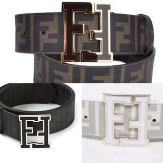 Fendi belts 100 each