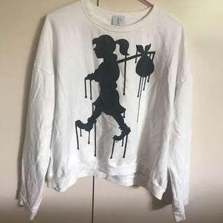 Karen walker runaway sweatshirt