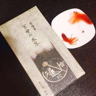 京都香彩堂 京線香 —冥世水琴 體驗15支入