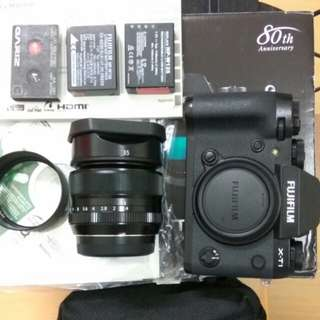 Fuji XT1(black) & XF 35mm f1.4