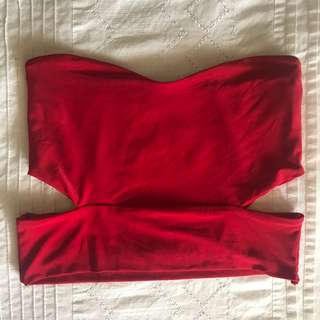Pretty little thing red bandeau
