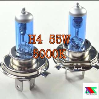 H4 5000k halogen light