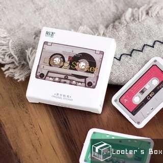 45 Pcs Vintage Cassette Decorative Sticker Pack (T2306)