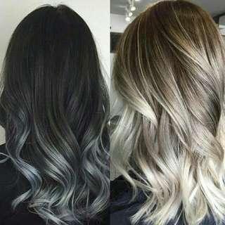 $12.90 NO BLEACH Black - Blonde Hair Dye